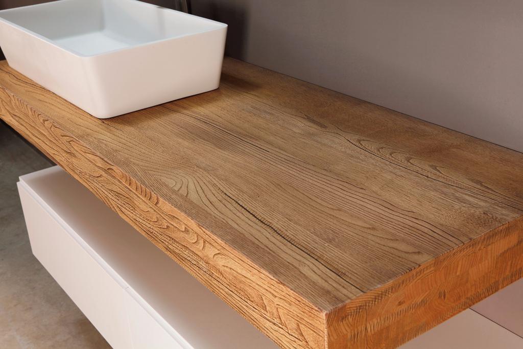 Encimeras de madera mapini for Encimeras de madera para banos